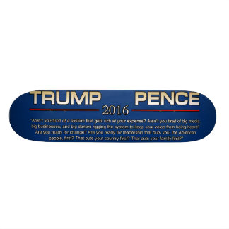 TRUMP ARENT YOU TIRED 21.6 CM SKATEBOARD DECK