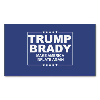 Trump Brady 2016 Magnetic Business Cards