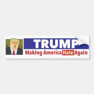 TRUMP. bumper sticker with picture