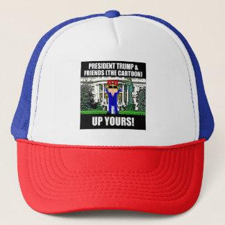 Trump Cartoon Up Yours Hat