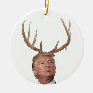 Trump Christmas: Deer Mr. President Christmas Ornament