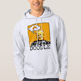 Trump Covfefe Doodle Hoodie for men