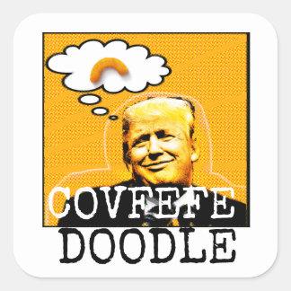 Trump Covfefe Doodle Sticker