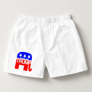 Trump For President 2016 Elephant Boxers