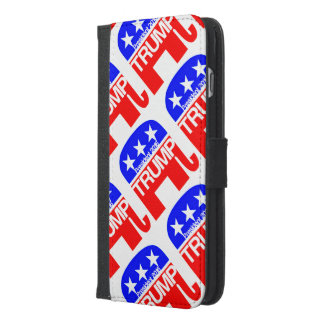 Trump For President 2016 Elephant iPhone 6/6s Plus Wallet Case