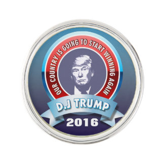 Trump For President 2016 Lapel Pin