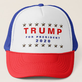 Trump For President 2020 Trucker Hat