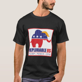 Trump for President Elephant Toupee T-shirt