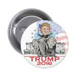Trump GOP Elephant Tour 6 Cm Round Badge