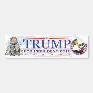 Trump GOP Elephant Tour Bumper Sticker