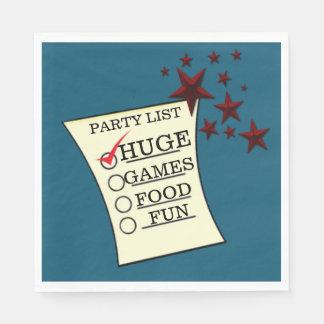 Trump HUGE Party Celebration Personalize Napkins Paper Napkins
