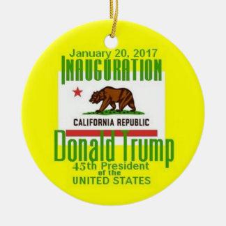 TRUMP Inauguration Christmas Ornament