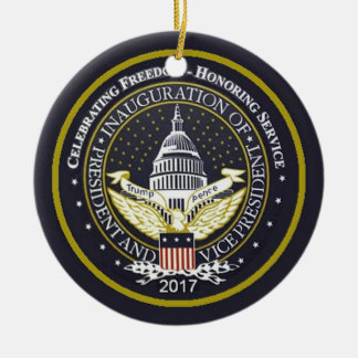 TRUMP Inauguration Christmas Ornament