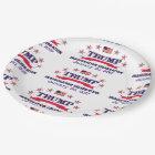 Trump Inauguration Paper Plate