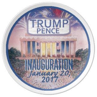 TRUMP Inauguration Plate Porcelain Plate