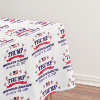 Trump Inauguration Tablecloth