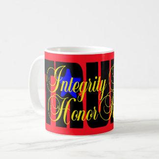 Trump Integrity Honesty Respect Honor! MUG RED