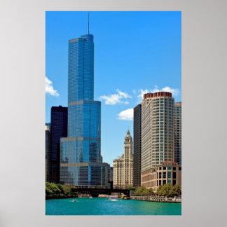 Trump International Hotel & Tower® Chicago Poster