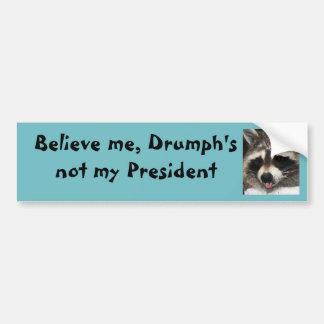 Trump is not my President Bumper Sticker