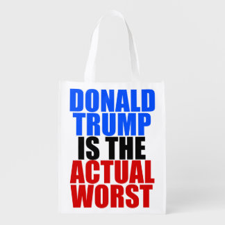 Trump is the Worst Reusable Grocery Bag