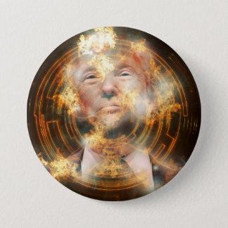 Trump Large, 3 Inch Round Button