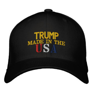 Trump Made In The USA Embroidered Hat