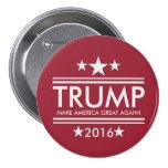 Trump-Make America Great Again 7.5 Cm Round Badge