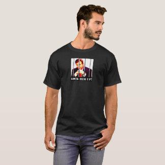 Trump-Manafort-Lock Him Up Men BLK T-Shirt