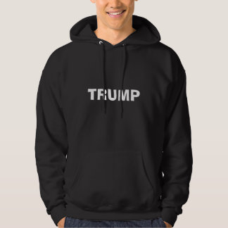 Trump Men's Basic Hoody Black / Grey