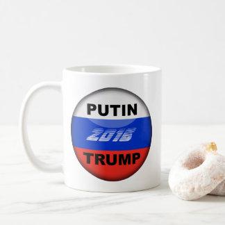 Trump Mug- Funny Campaign Button Design-Gradient Coffee Mug