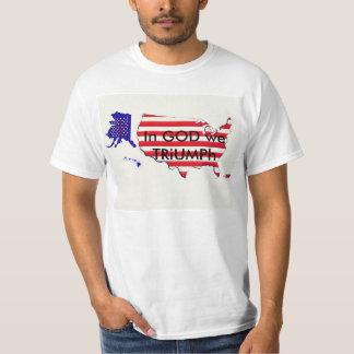 Trump Nation TRiUMPhs under GOD T-Shirt