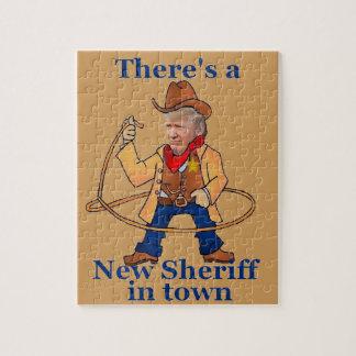 TRUMP New Sheriff Jigsaw Puzzle