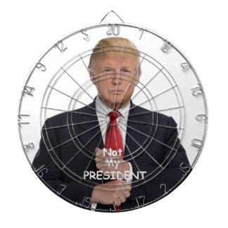 TRUMP Not My President Dartboard