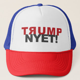 TRUMP NYET!  HATS, MUGS and other gear Trucker Hat