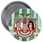 Trump & Palin in 2016 10 Cm Round Badge
