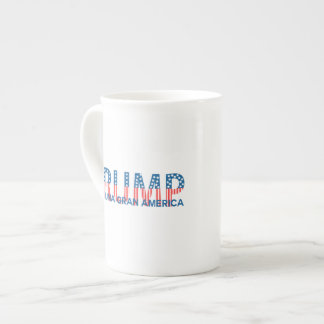Trump, para una gran América Bone China Mug