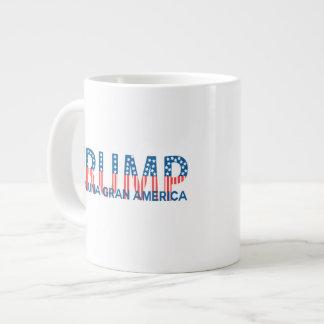 Trump, para una gran América Jumbo Mug