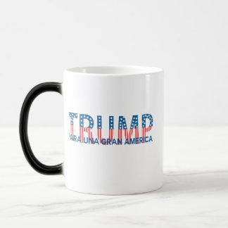 Trump, para una gran América Morphing Mug