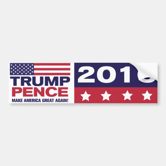 Trump/Pence 2016 Bumper Sticker
