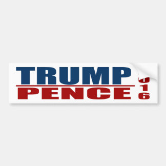 Trump Pence Bumper Sticker 2016