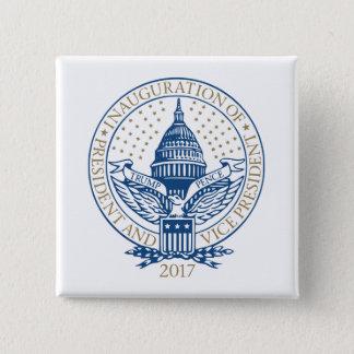 Trump Pence President Inaugural Logo Inauguration 15 Cm Square Badge