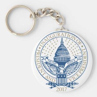 Trump Pence President Inaugural Logo Inauguration Key Ring