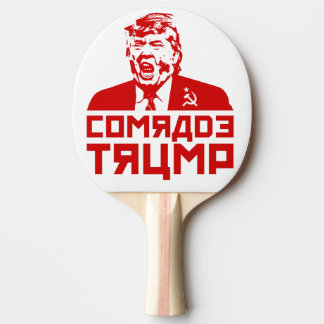 """Trump Ping Pong Paddle: """"Comrade Trump"""""""