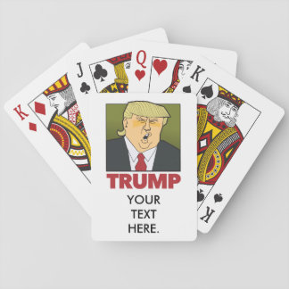 TRUMP playing cards. customisable. Playing Cards