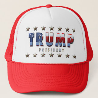 Trump President Trucker Hat