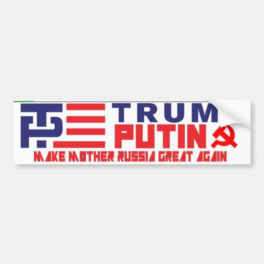 Trump / Putin Bumper Sticker