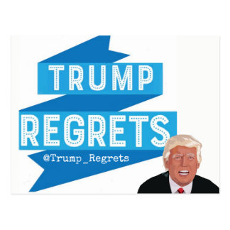Trump Regrets Postcard