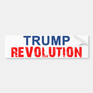 Trump Revolution Bumper Sticker