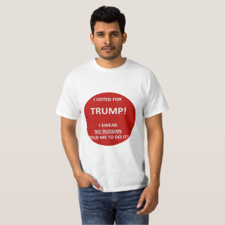Trump Russian Hacker Shirt