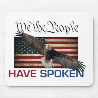 Trump The People Have Spoken Mouse pad